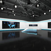 Studio TV 3d model