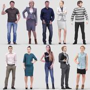 3D модель человека Vol. 1 стоящие люди 3d model