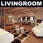 Livingroom 8 3d model