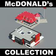 맥도날드 컬렉션 3d model