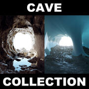 Cave Collection 2 CGW 3d model