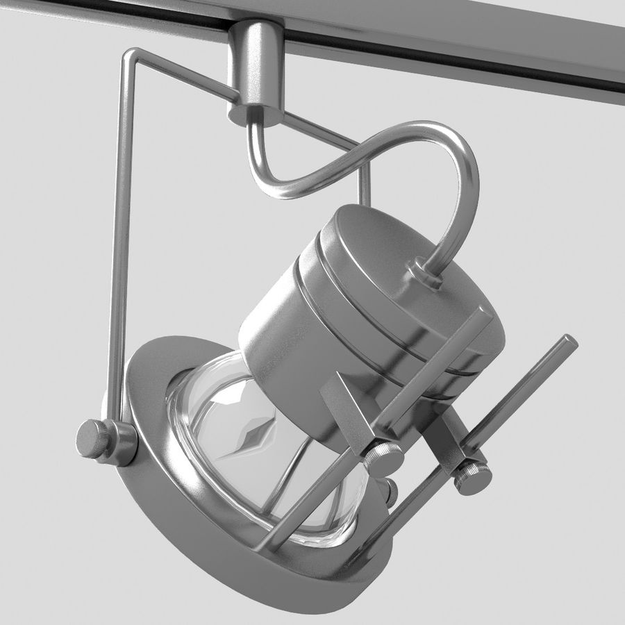 Track Lighting royalty-free 3d model - Preview no. 9