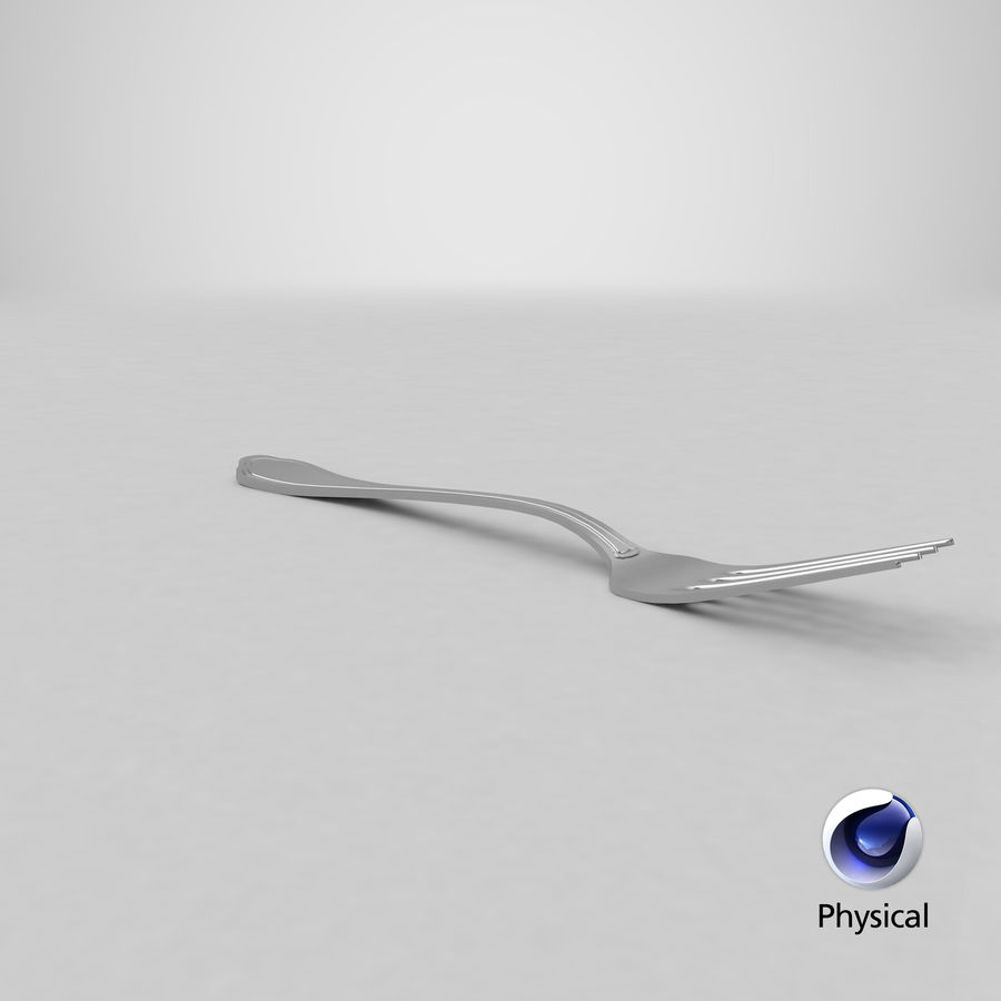 Fork royalty-free 3d model - Preview no. 23
