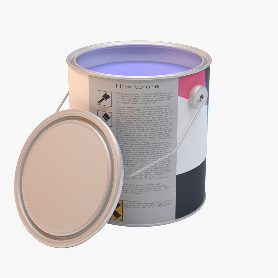 油漆罐 royalty-free 3d model - Preview no. 1