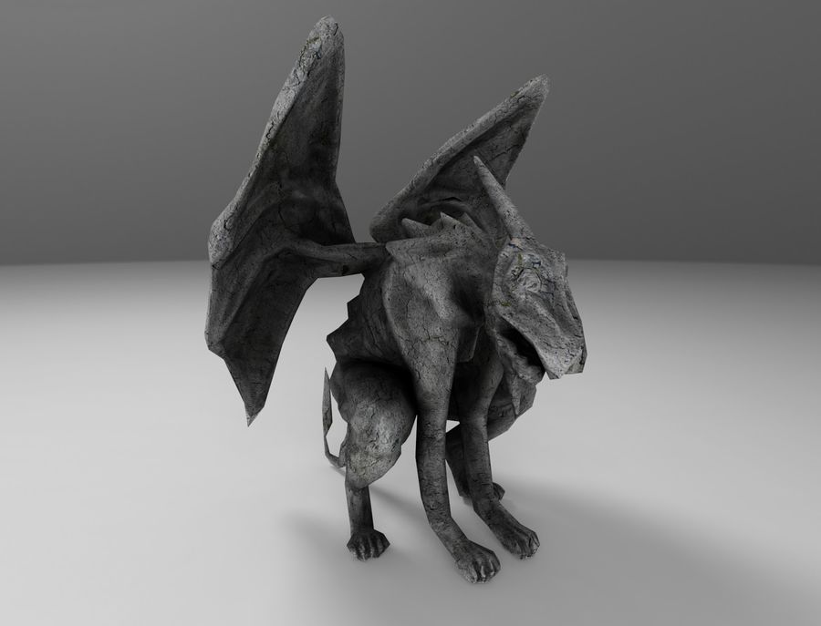 Kade Chan Origami Blog 香港摺紙工作室 (日誌): Gargoyle 夜行神龍 | 687x900