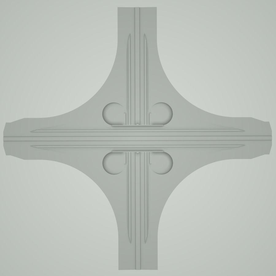 Freeway Interchange royalty-free 3d model - Preview no. 7