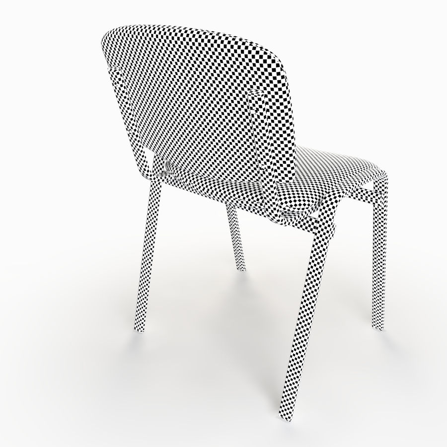 Chaise de bureau royalty-free 3d model - Preview no. 7