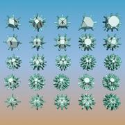 Geometric Shape Pack 16 3d model
