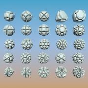 Geometric Shape Pack 04 3d model