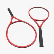 网球拍通用3D模型 3d model