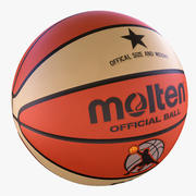 ballon de basket 3 3d model