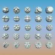 Geometrische vormpakket 06 3d model