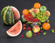 Fruits Nature Morte 3d model