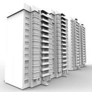 Жилой комплекс 3d model