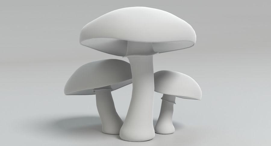 Portobello mantarları royalty-free 3d model - Preview no. 12