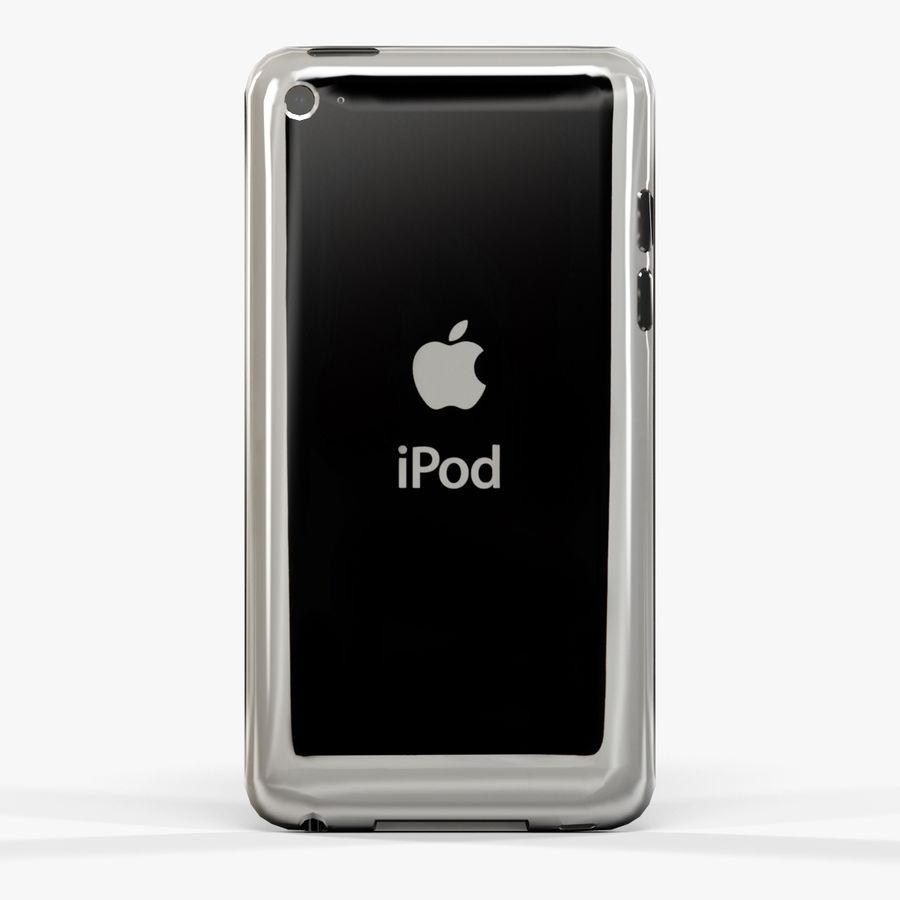 Leitor de mídia digital Apple iPod touch de 4 gerações royalty-free 3d model - Preview no. 5