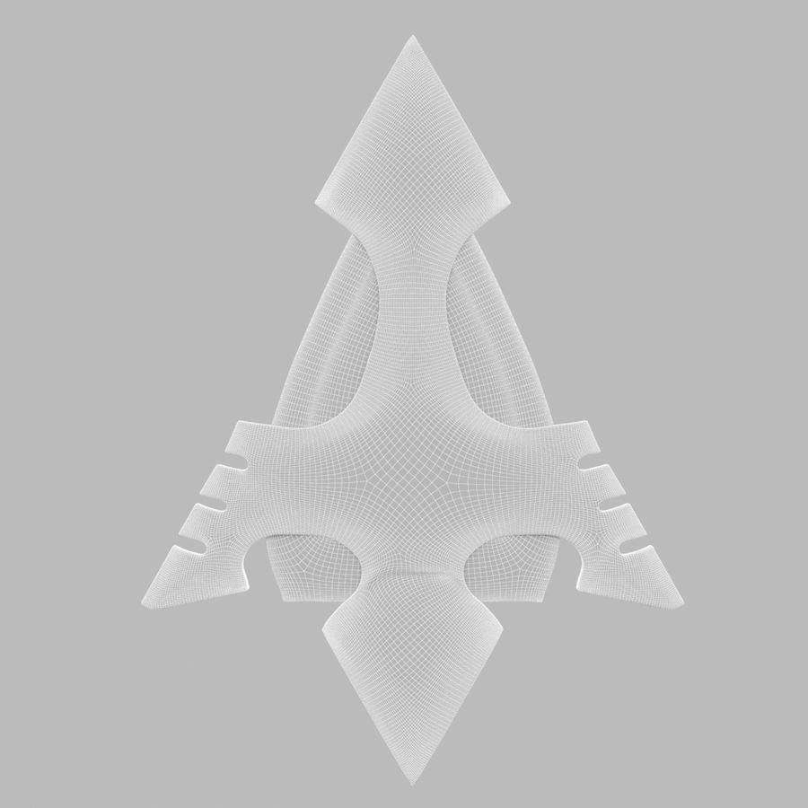 Arrow royalty-free 3d model - Preview no. 9