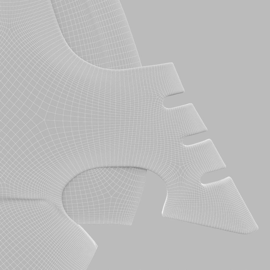 Arrow royalty-free 3d model - Preview no. 10