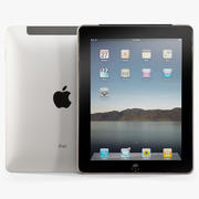 Apple iPad 16Gb tablet 3d model