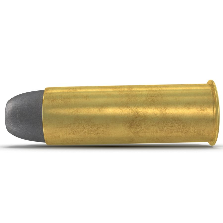 .44 Cartridge 3D Model royalty-free 3d model - Preview no. 5