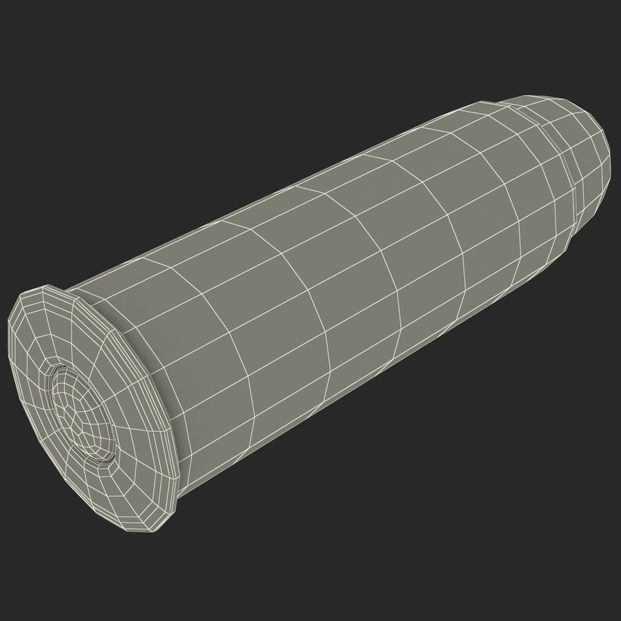 .44 Cartridge 3D Model royalty-free 3d model - Preview no. 18