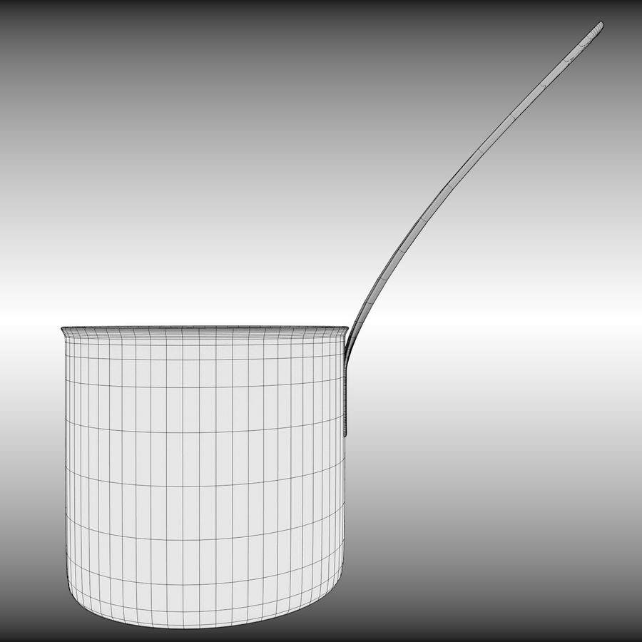 Cooking Pot royalty-free 3d model - Preview no. 12