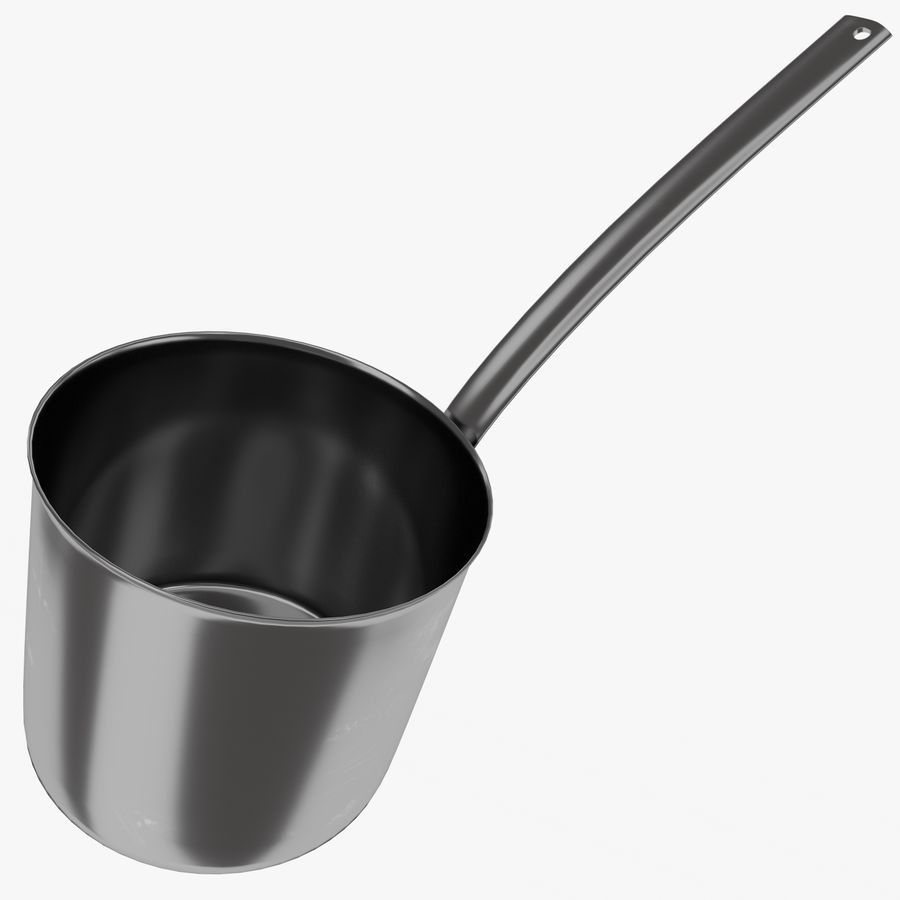 Cooking Pot royalty-free 3d model - Preview no. 2