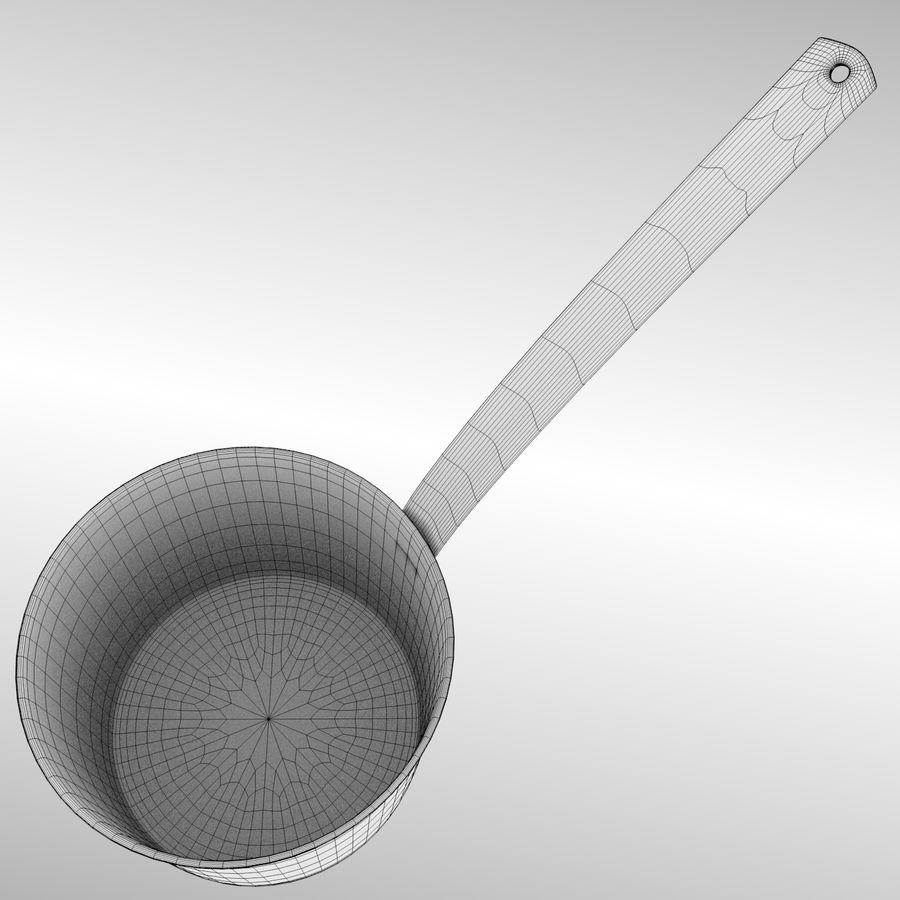 Cooking Pot royalty-free 3d model - Preview no. 10