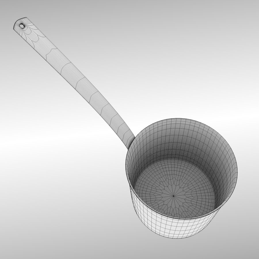 Cooking Pot royalty-free 3d model - Preview no. 9