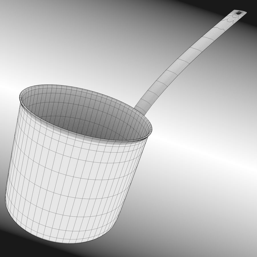 Cooking Pot royalty-free 3d model - Preview no. 11