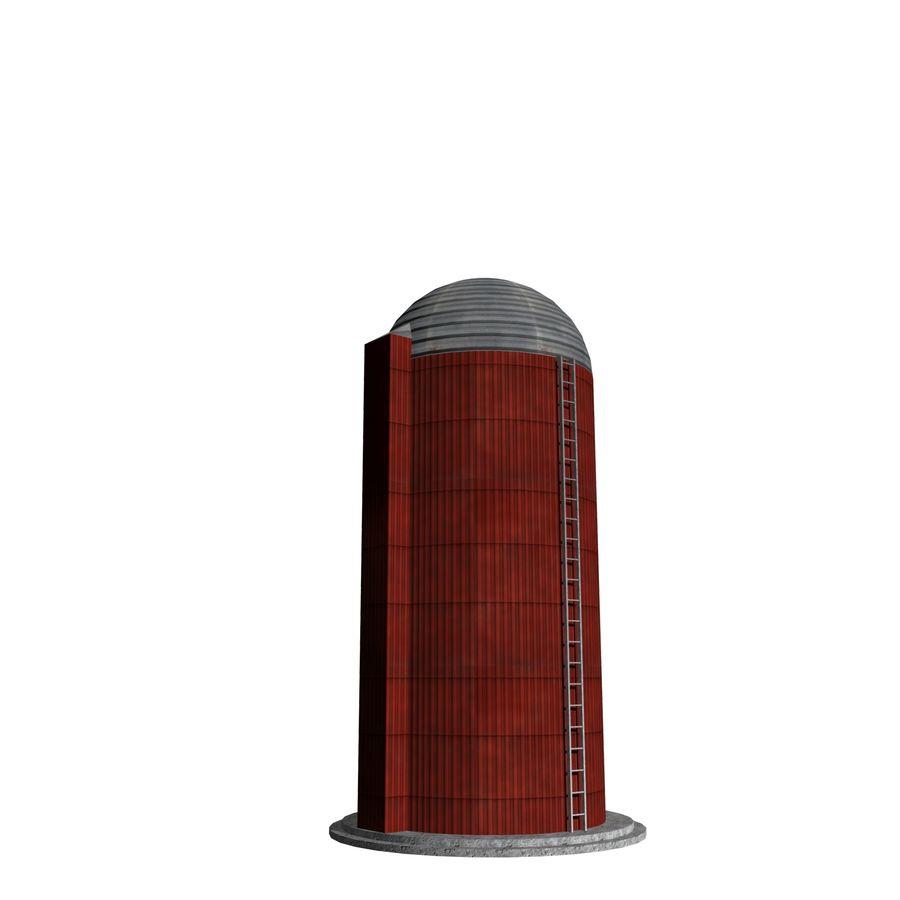 Silo Agrícola royalty-free 3d model - Preview no. 1
