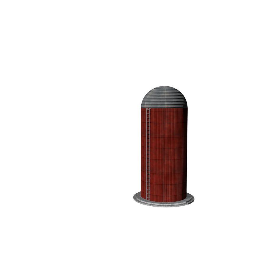 Silo Agrícola royalty-free 3d model - Preview no. 3