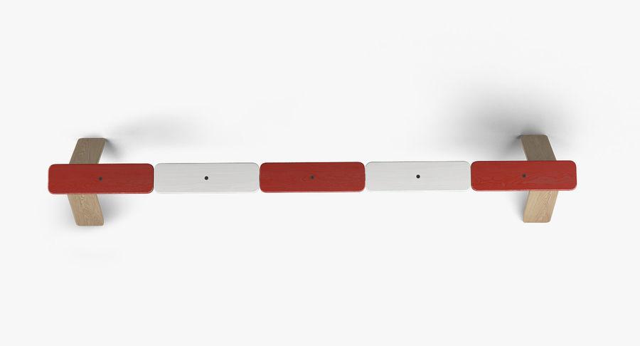 IKEA PS balansbänk royalty-free 3d model - Preview no. 3