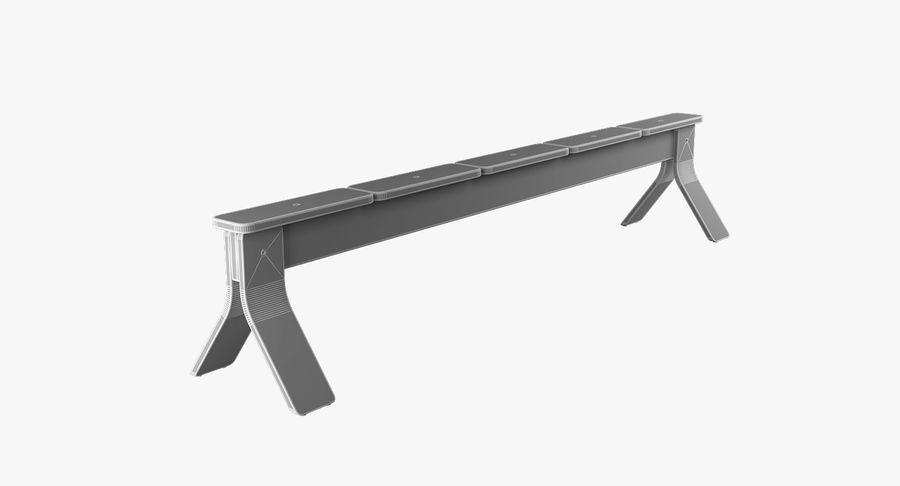 IKEA PS balansbänk royalty-free 3d model - Preview no. 7