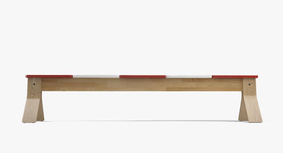 IKEA PS balansbänk royalty-free 3d model - Preview no. 4
