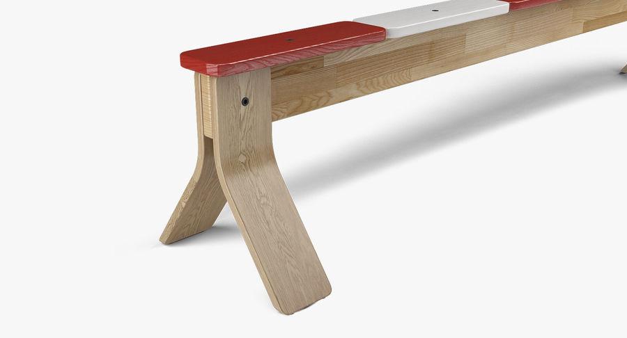IKEA PS balansbänk royalty-free 3d model - Preview no. 6