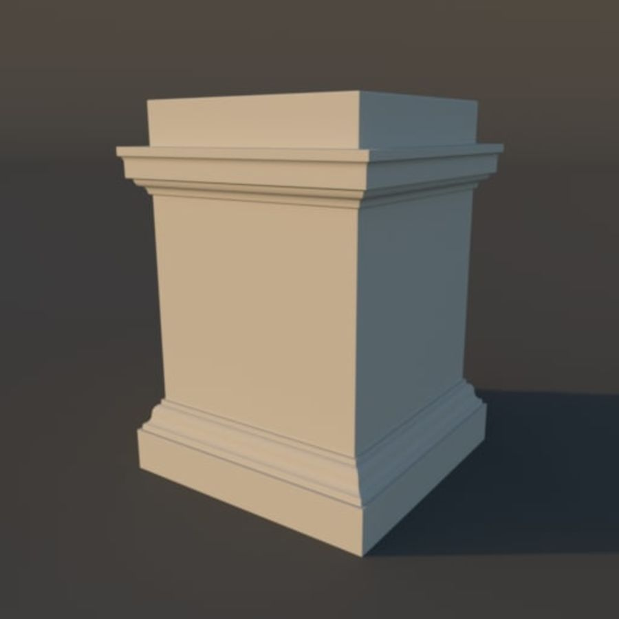Tuscan Architecture Pack royalty-free 3d model - Preview no. 2