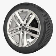 AUDI Q7 2016 Wheel 3d model