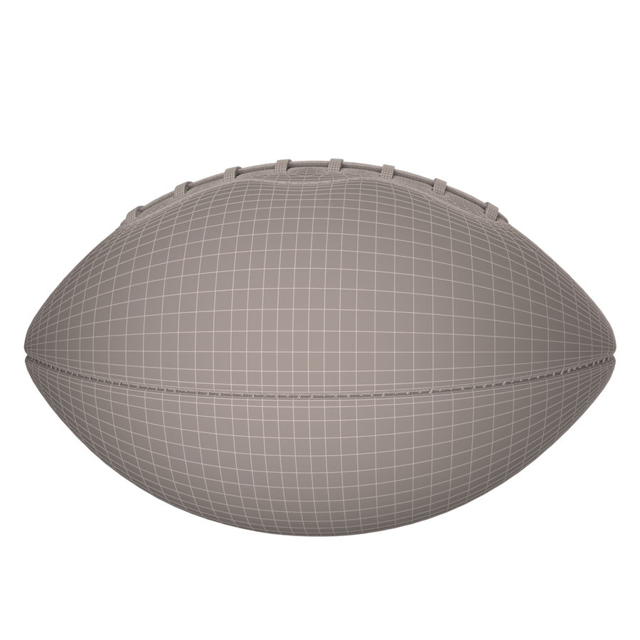 Football Ball royalty-free 3d model - Preview no. 13