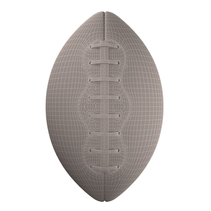 Football Ball royalty-free 3d model - Preview no. 17