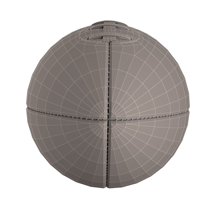 Football Ball royalty-free 3d model - Preview no. 10
