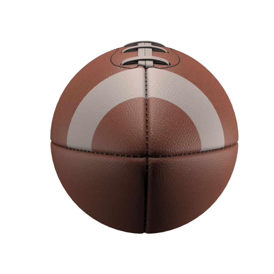 Football Ball royalty-free 3d model - Preview no. 7