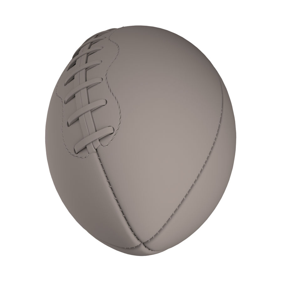 Football Ball royalty-free 3d model - Preview no. 4