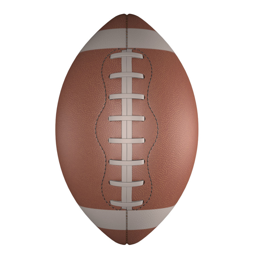 Football Ball royalty-free 3d model - Preview no. 15