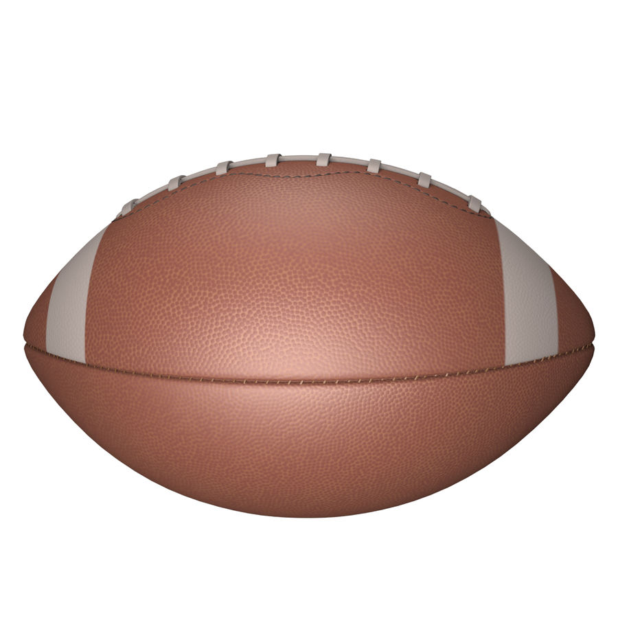Football Ball royalty-free 3d model - Preview no. 11
