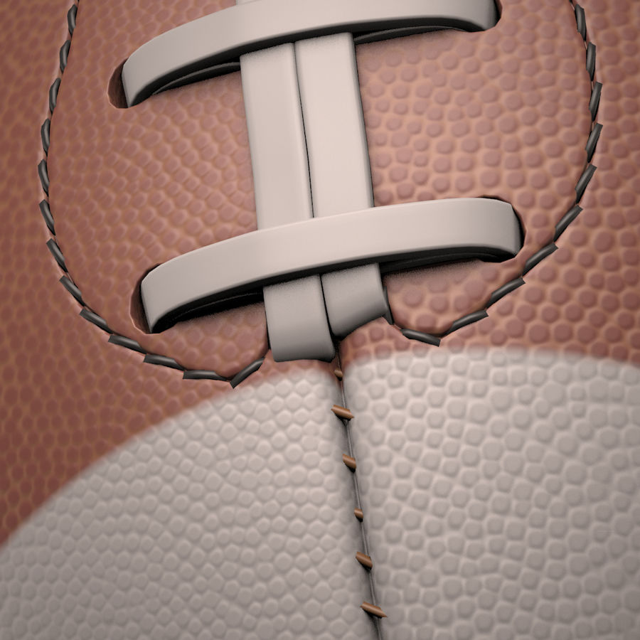 Football Ball royalty-free 3d model - Preview no. 19