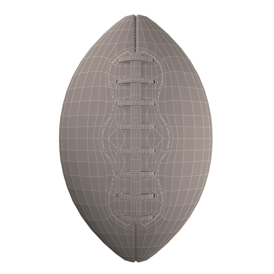 Football Ball royalty-free 3d model - Preview no. 18