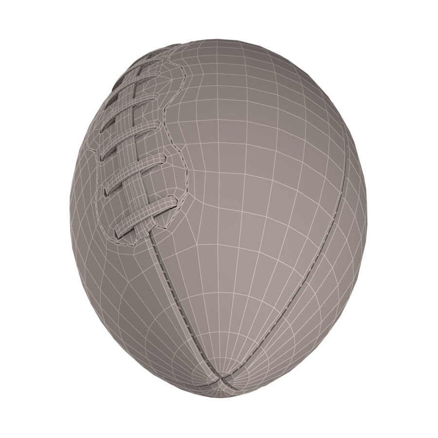 Football Ball royalty-free 3d model - Preview no. 6