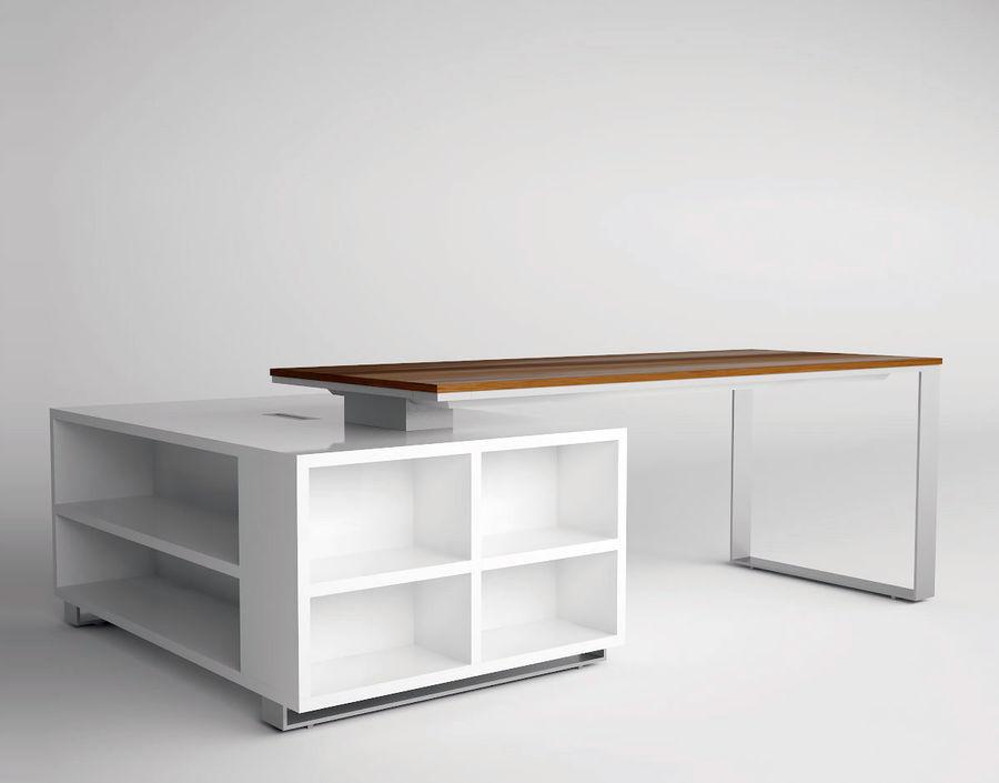 Schreibtisch royalty-free 3d model - Preview no. 1