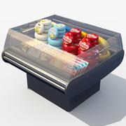 Открытые Витрины Сыра 3d model